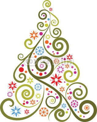 graphic Christmas tree on us.fotalia.com