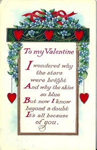 valentines day poems top 10