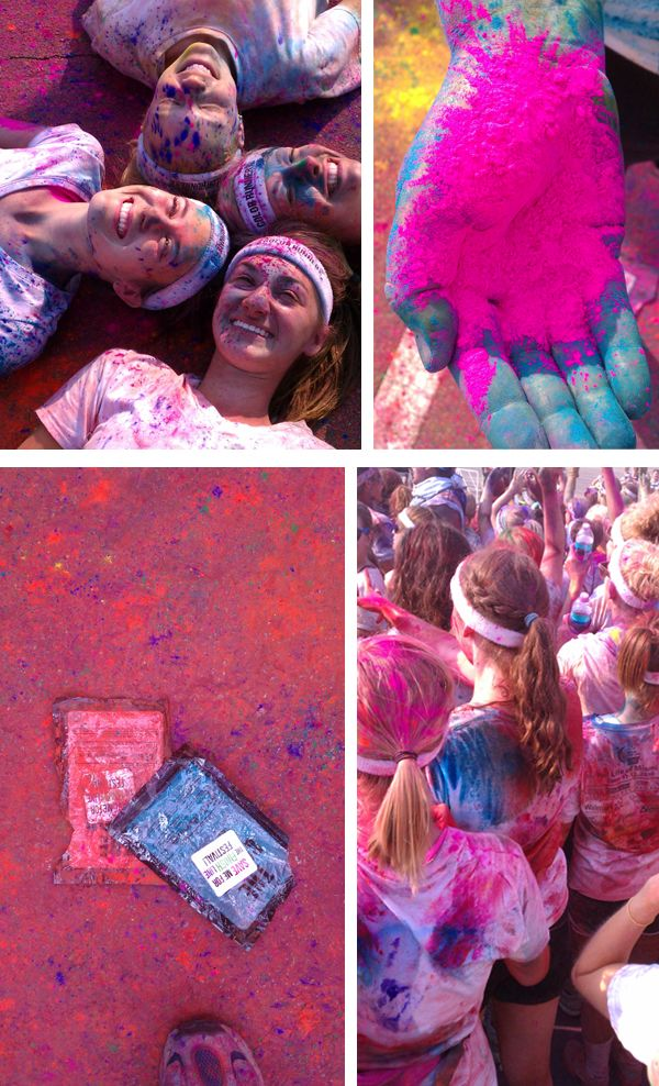 Do a Color Run.. on my bucket list of things to do before I die..