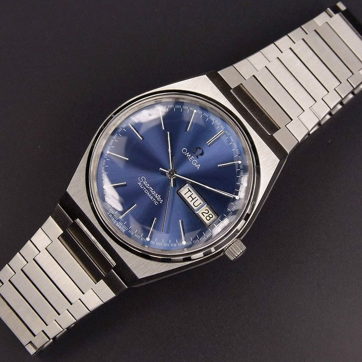 Omega Seamaster Automatic Day Date | Blue*