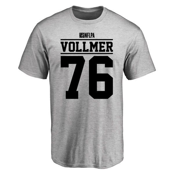 Sebastian Vollmer Player Issued T-Shirt - Ash - $25.95
