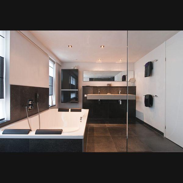 Meer dan 1000 idee n over grote badkamers op pinterest badkamer spiegels grote - Een mooie badkamer ...