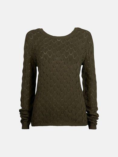 Grön - Flex sweater