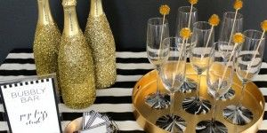 new year's eve party ideas | New Year's Eve bubbly bar FEATURED