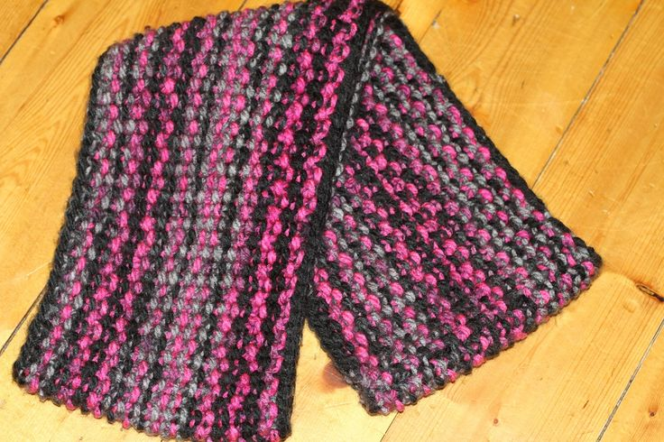 Infinity Scarf Knitting Pattern Seed Stitch : 1000+ images about My Knitting Projects on Pinterest ...