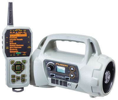 FOXPRO Fusion Electronic Game Call w/TX - 1000 Remote Control - Tan