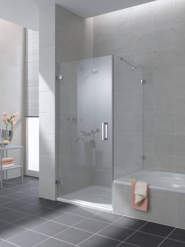 Meer dan 1000 idee n over grote douche op pinterest badkuipen hoofdbadkamers en badkamer - Glazen kamer bad ...