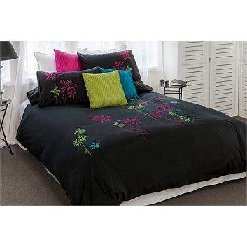 ISOBEL?   Duvet Cover Sets - Bedroomware - Briscoes - Cloud 9 Optima Pearl Duvet Cover Set