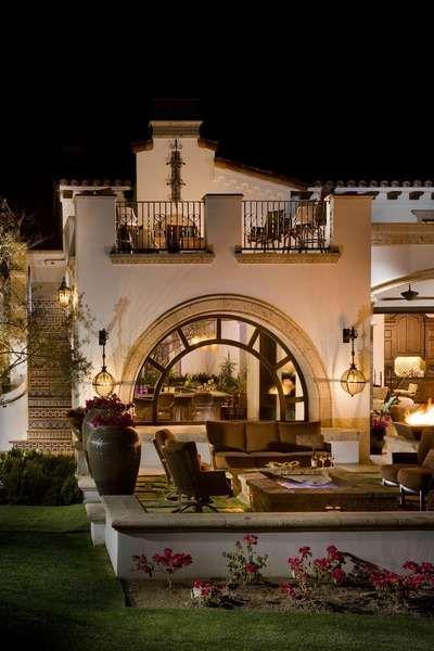 Spanish/Mediterranean Style.
