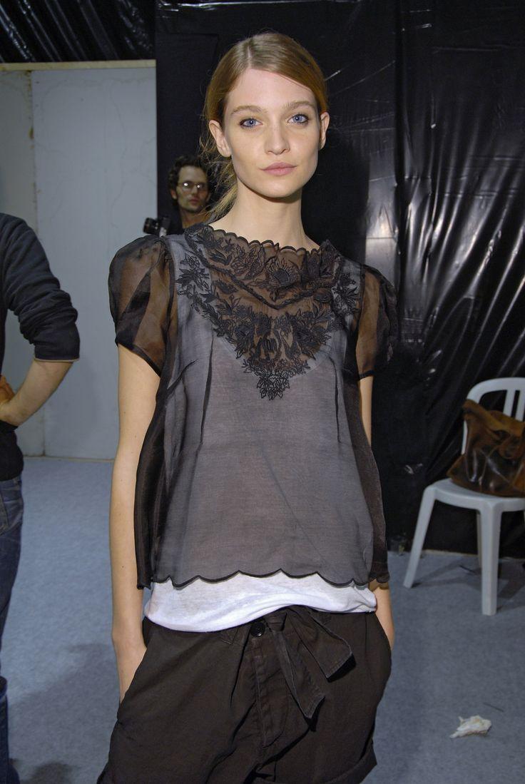 Isabel Marant at Paris Spring 2007 (Backstage)