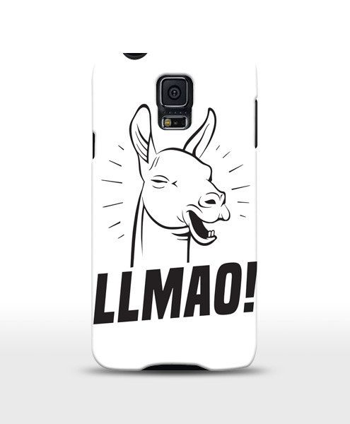 Llmao funny case llama case iphone case samsung galaxy by store365
