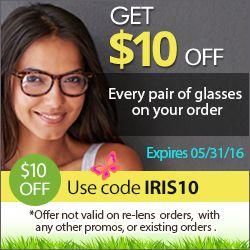 #eyewear http://www.planetgoldilocks.com/eyeglasses.htm Get $10 every pair of glasses on your order! Use code: IRIS10 Expires 05/31/2016.