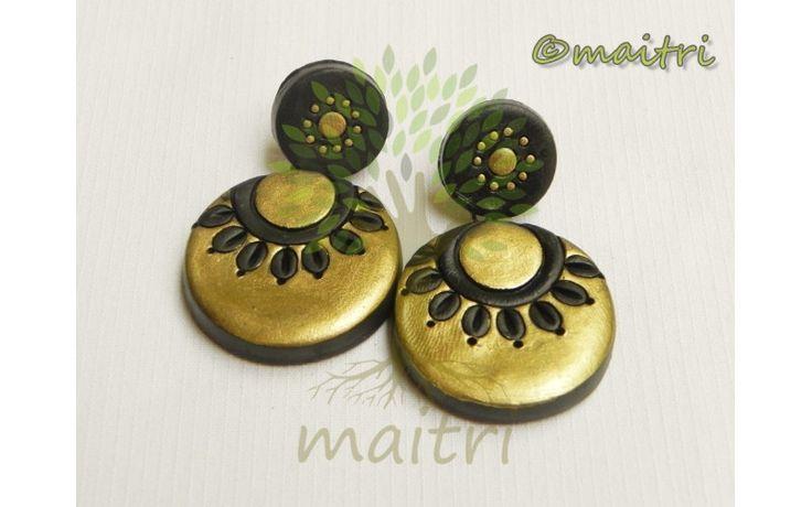 Big Size Terracotta Earrings