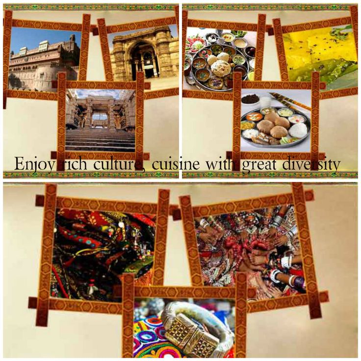 Gujarat Tourism- Explore the beauty of Gujarat with its true colors of rich heritage and cultural traditions. Visit bit.ly/1A1DDxc