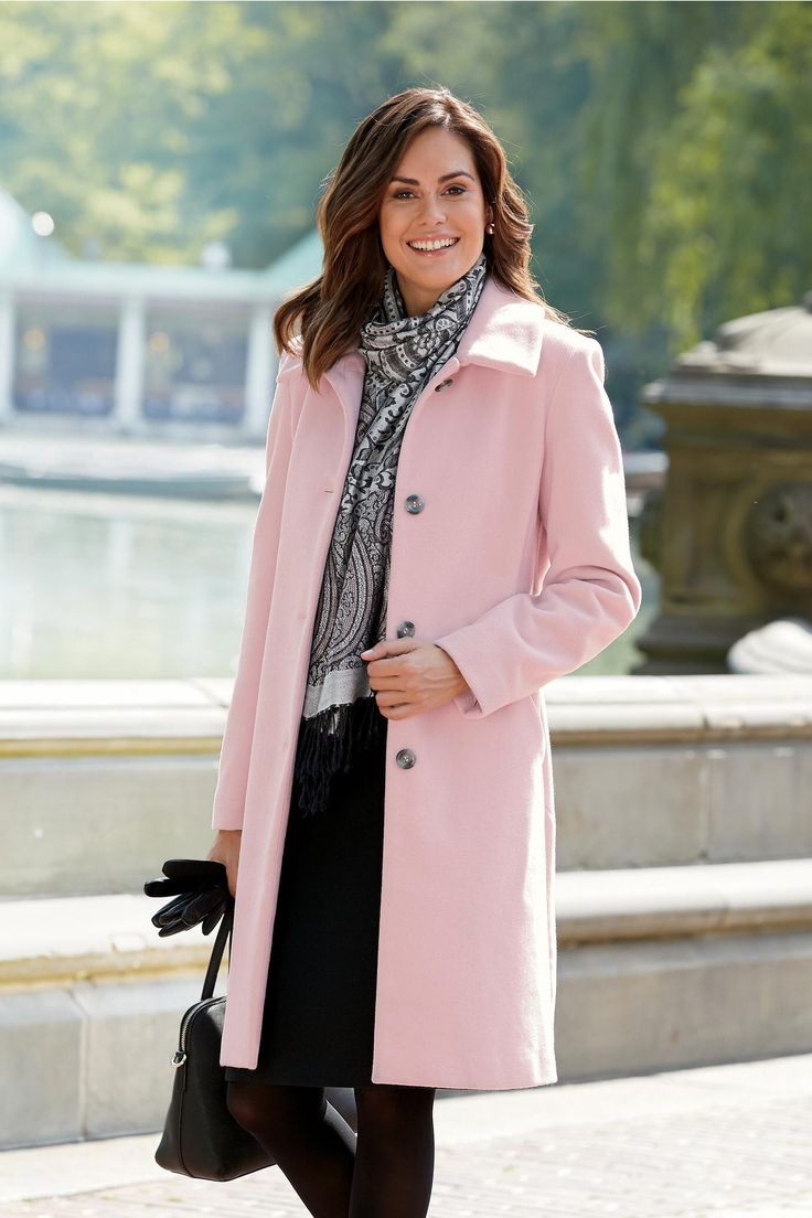 Best 25  Pink wool coat ideas on Pinterest | Light pink coat, Best ...