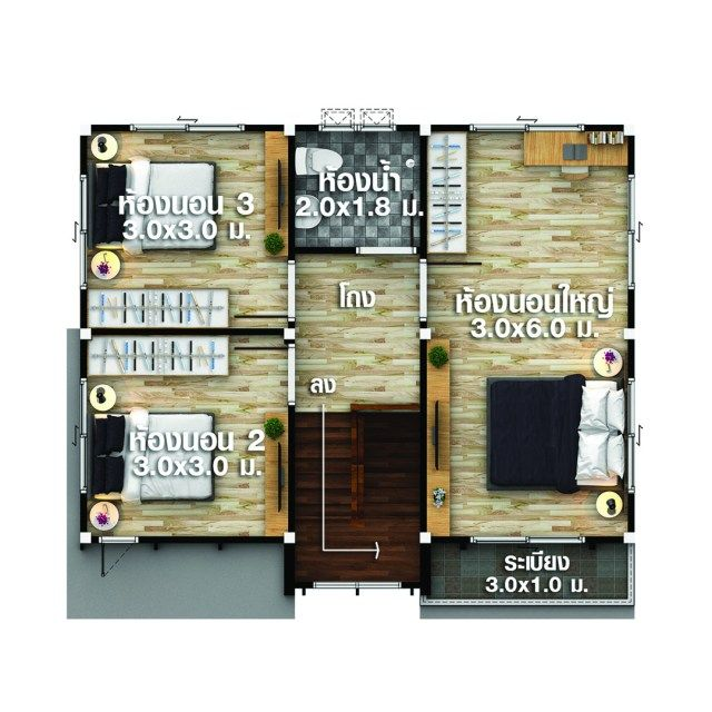 House Design Plans Idea 8x7 With 4 Bedrooms Home Ideassearch Home Design Plans 4 Bedroom House Plans Family House Plans