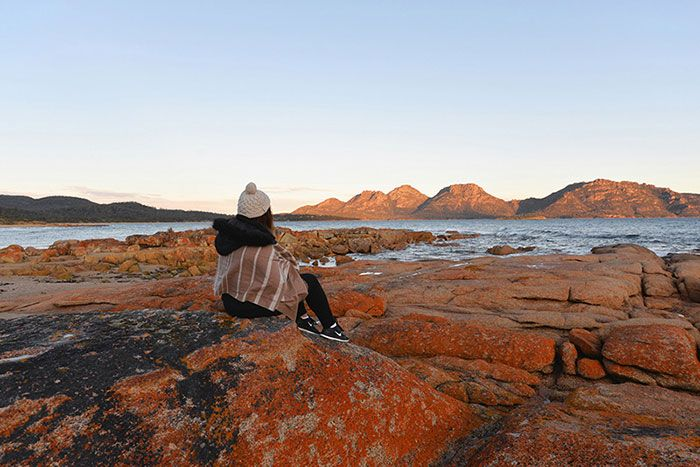 Travel Blogger Q&A ~ The Wanderlust Chronicles Bay of Fires, Tasmania Australia