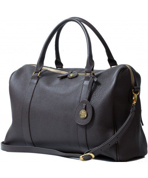 PacaPod Firenze - chocolate Leather Changing Bag