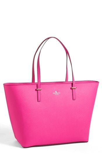 kate spade new york 'cedar street harmony - medium' tote available at #Nordstrom, bright pink sturdy bag