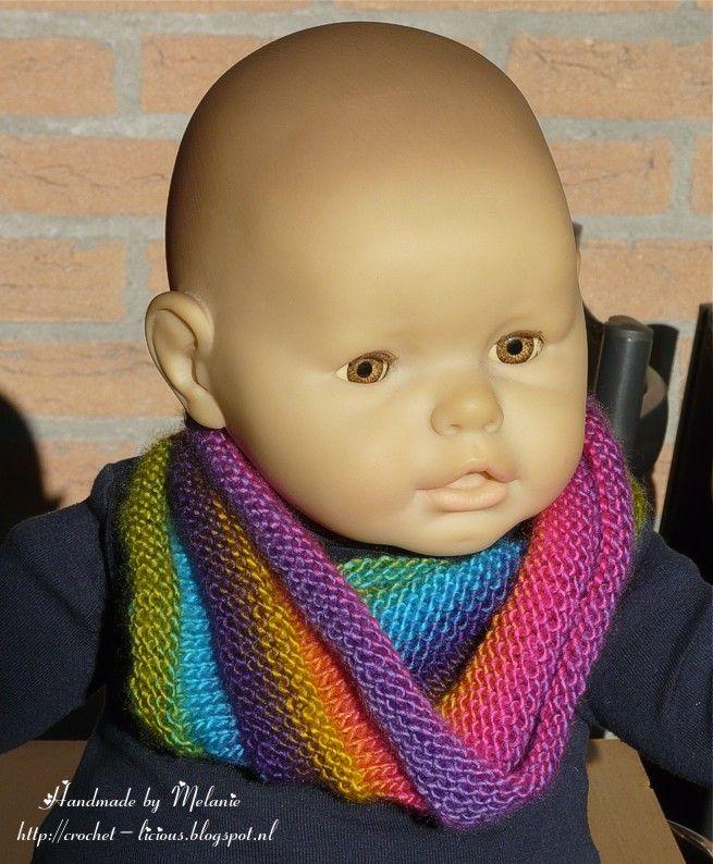 Crochet-licious: Col gemaakt met fennagaren