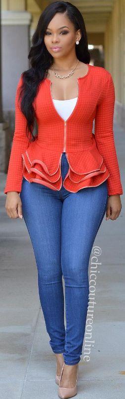 Peplum Chic / Clothing By  chiccoutureonline