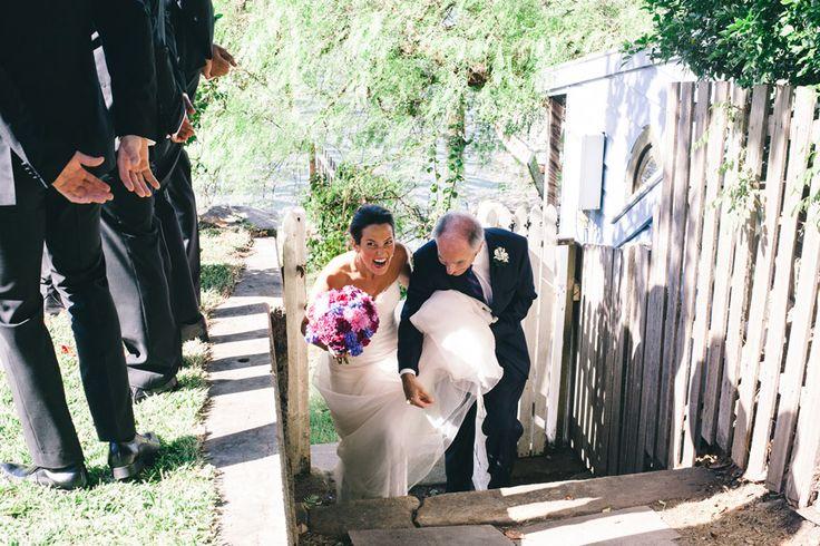 www.ishotthebride.com.au by Tanya Lake. Wedding on Sydney Harbour