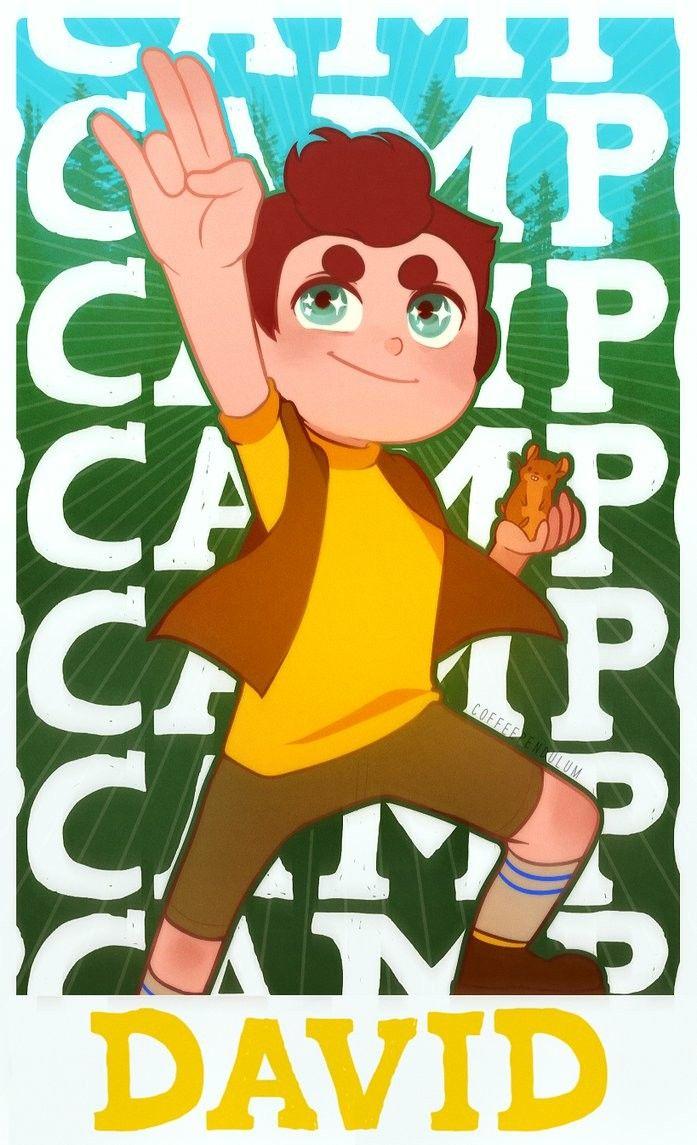 Camo Camp a younger David