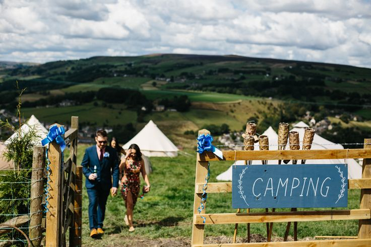 Camping Glamping Creative Family Farm Outdoor Woodland Humanist Wedding Yorkshire http://www.sansomphotography.co.uk/