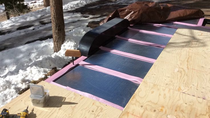 Insulation in the floor