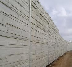 precast facade noise barrier