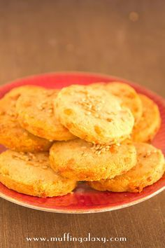 Muffin Galaxy: GALLETAS SALADAS DE PARMESANO Y ORÉGANO