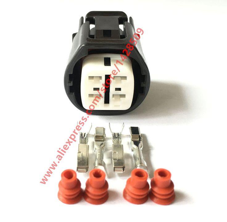 5 Sets 4 Pin Sumitomo 6189-0694 Denso Alternator Regulator Repair Harness Connector For Honda Acura TOYOTA #Affiliate