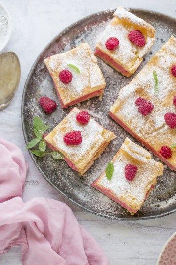 #karpatka malinowa #delektujemy #raspberry #maliny #cake