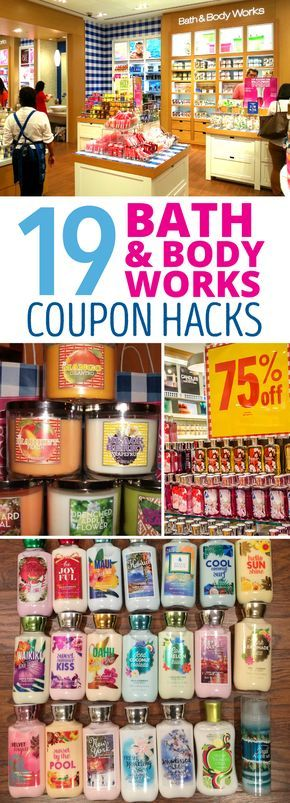 Bath & Body Works Coupon Hacks