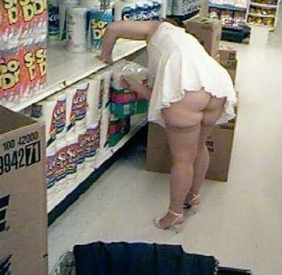 What gets me is she knows exactly what she is doing.  Add one more trashy person to the world. :(: Walmartians, Walmart Shoppers, At Walmart, Wal Mart, Funny Stuff, Walmart People, Humor, Walmartpeople, Wtf