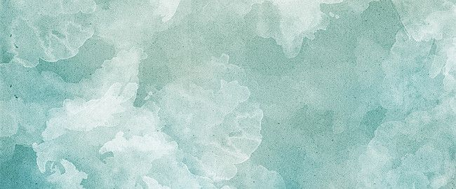 Romantic Light Blue Pattern Poster Background Watercolor