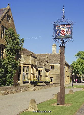 Lygon Arms, Broadway, Cotswolds, lovely old hotel, have stayed there a few times and can recommend it!