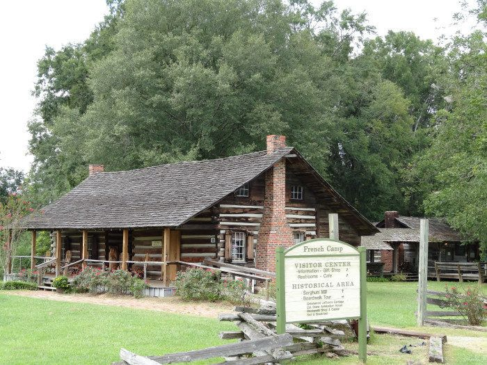 4. French Camp Historic District, milepost 180.7 on the Natchez Trace Parkway