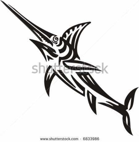 tribal fish tattoo ideas pinterest fish. Black Bedroom Furniture Sets. Home Design Ideas