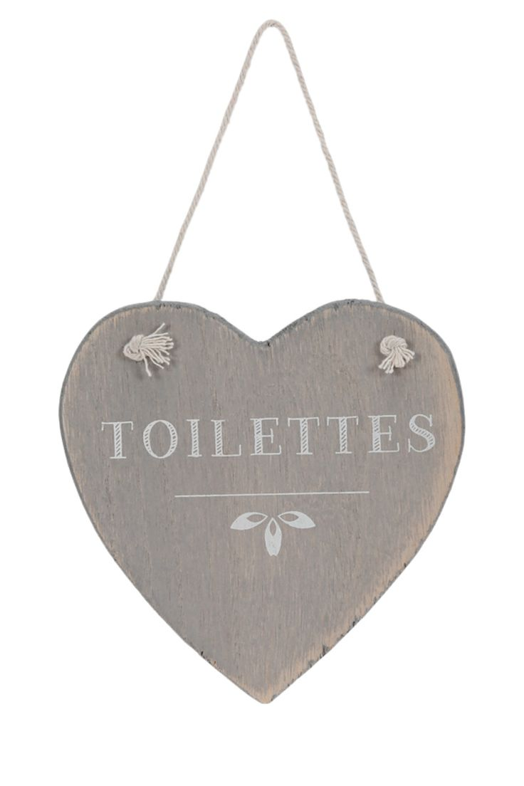 Plaque de porte coeur en bois, 13 x 13 cm LES COEURS Pinterest Déco, Décoration et Zen # Plaque De Porte En Bois