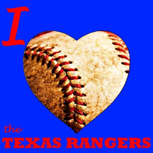I <3 the Texas  Rangers