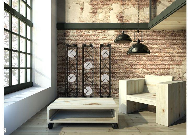 Meble w stylu loft Woodenfactory - Salon - Styl Industrialny - Woodenfactory