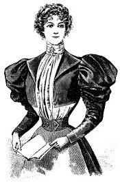 Free Pattern: Lady's Bodice with Bolero Front, 1896