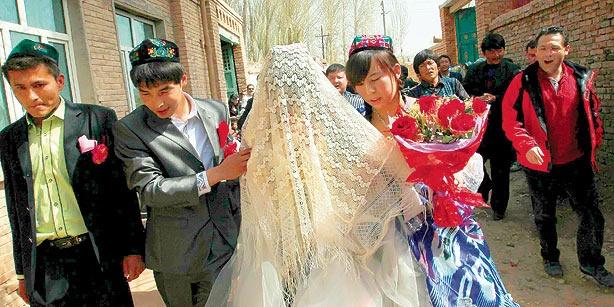 traditional Uyghur wedding