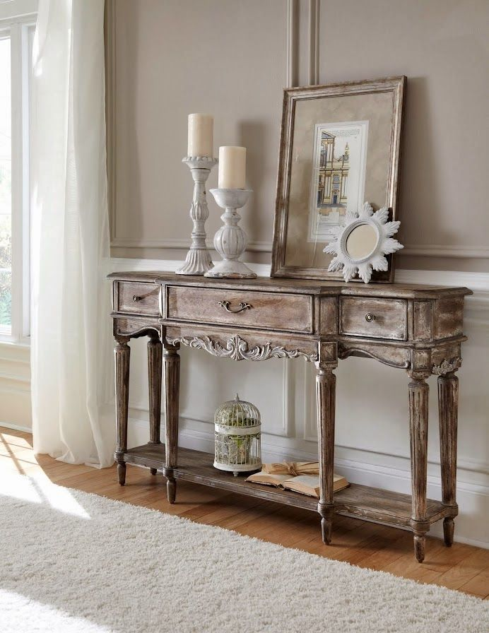 Rustic French Country Furniture. Shop For Pulaski Furniture Console, And  Other Living Room Console