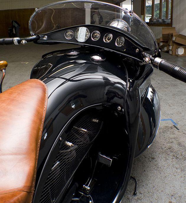 Art Deco 1930 KJ Henderson Custom Motorcycle | HiConsumption