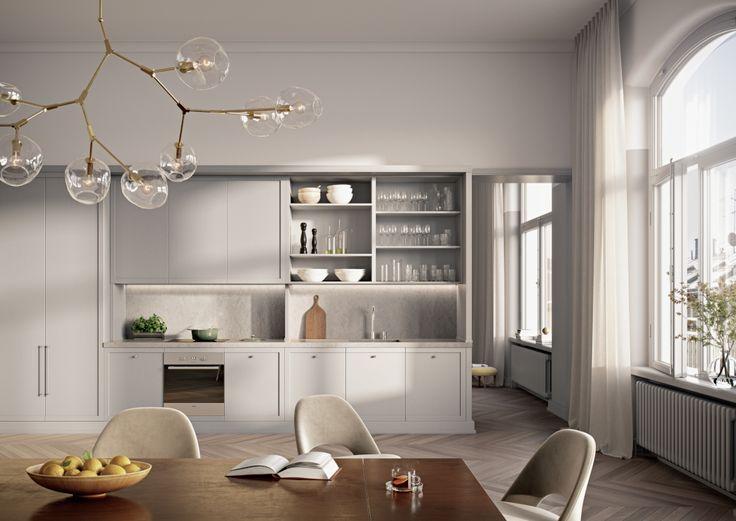 #swedish #design #kitchen #windows #nordic #design