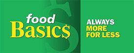 Food Basics - Always more for less