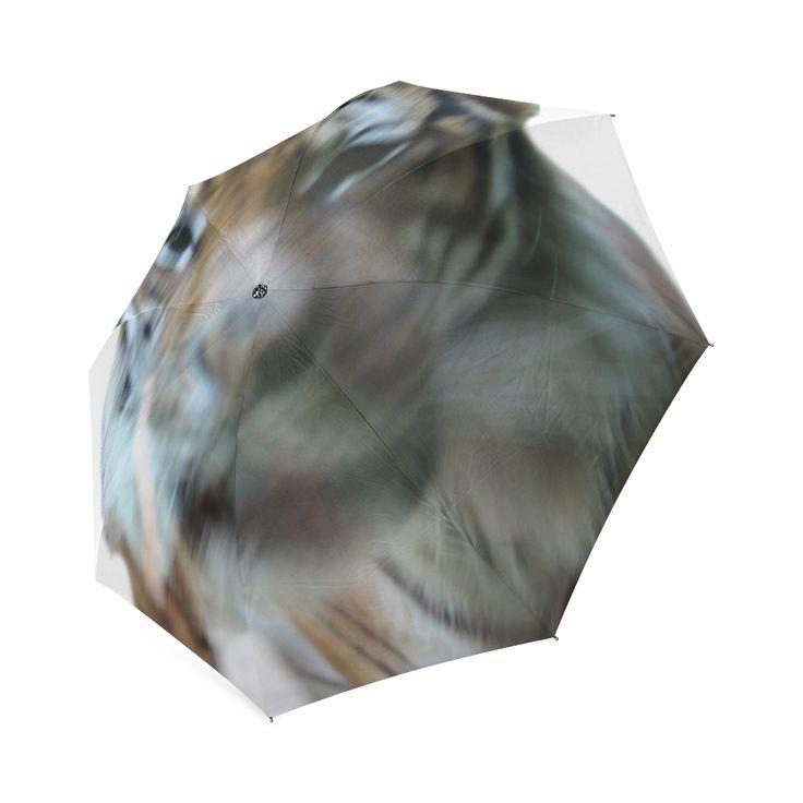 Face of Tiger Foldable Umbrella
