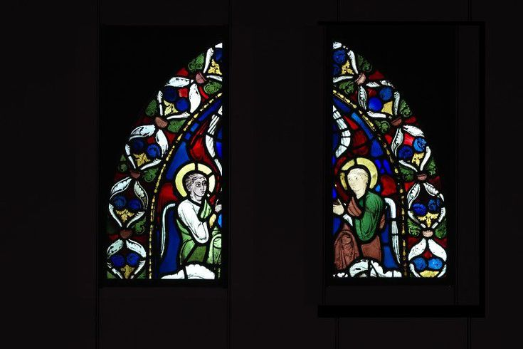 Panel  Place of origin: Rhône-Alpes, France (made)  Date: ca. 1190 (made)  Artist/Maker: Unknown (production)  Materials and Techniques: Clear, coloured and flashed glass with painted details